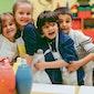Kinderen in actie: Spelletjesmiddag