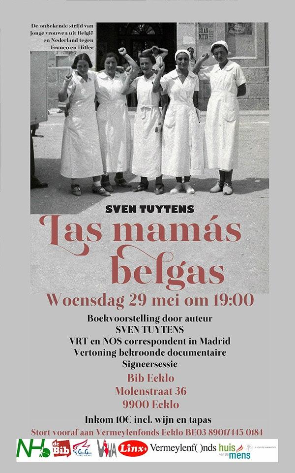 Las mamas Belgas - documentaire en boekvoorstelling