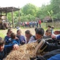 Kinderclub op bezoek bij boer Frans