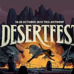 Desertfest 2019 - Day 1: black Moon Circle - Monomyth - Nebula - The Obsessed - Sunnata - Swan Valley Heights - Temple Fang - Truckfighters - Yatra - Zeal & Ardor
