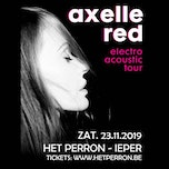 Electro Acoustic Tour - Axelle Red