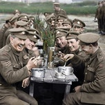 'They Shall not grow old' + storytelling 'jonge soldaten in WOI'