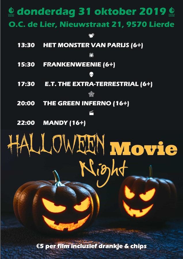 Halloween 30 Oktober.Halloween Movie Marathon Op Donderdag 31 Oktober 2019 In