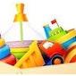 Tafelverkoop van kinderartikelen