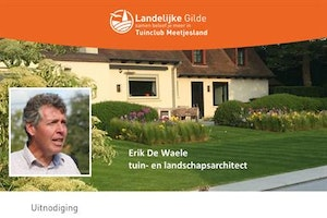 Tuinarchitect Erik De Waele in de praatstoel