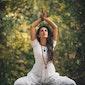 Yogawandeling in het Hageven (Pelt)