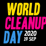 Zwerfvuilactie op World Clean Up day