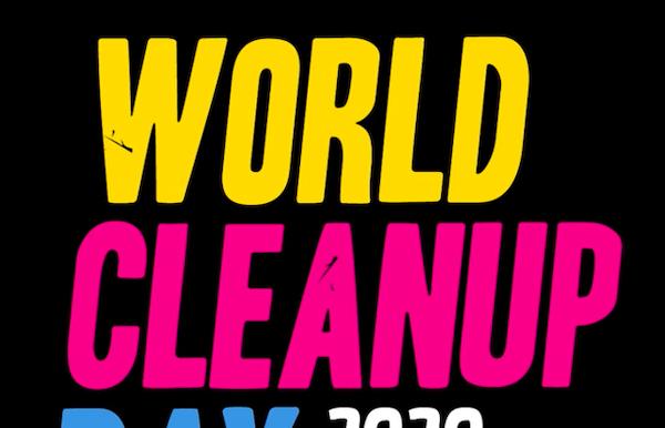 Zwerfvuilactie op World Clean Up day