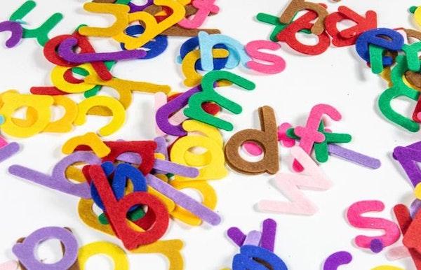 Kleuters 3-6 jaar - Letters en cijfers