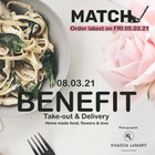 Match BENEFIT Take-out & Delivery