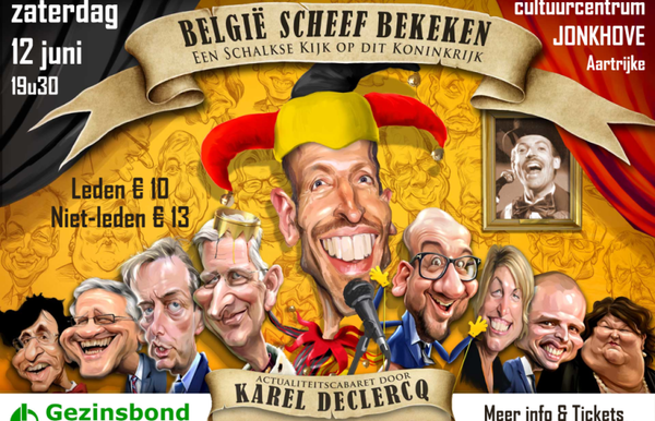 Comedy met Karel Declercq