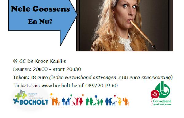 100 jaar Gezinsbond: Comedy met Nigel Wiliams en Nele Goossens