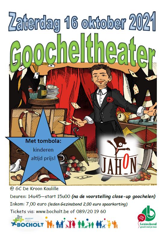 100 jaar Gezinsbond: Goocheltheater Jahon