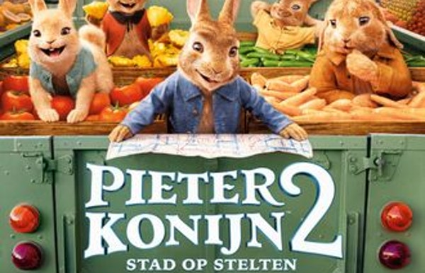 Pieter Konijn 2: Stad op Stelten