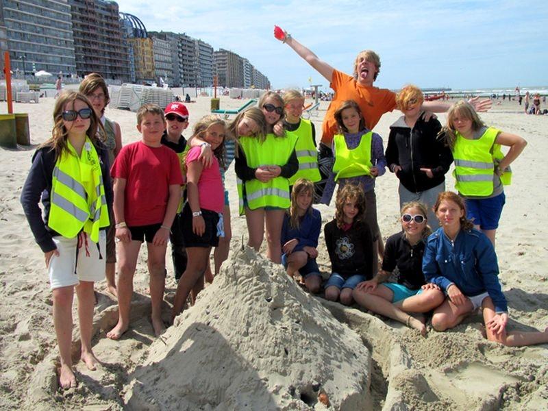 Activak jeugdvakanties – Zot aan zee