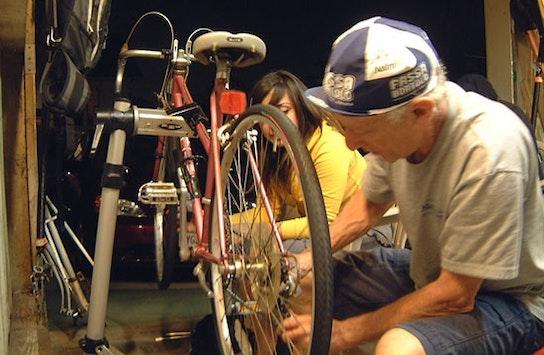 Sleutelen aan je fiets