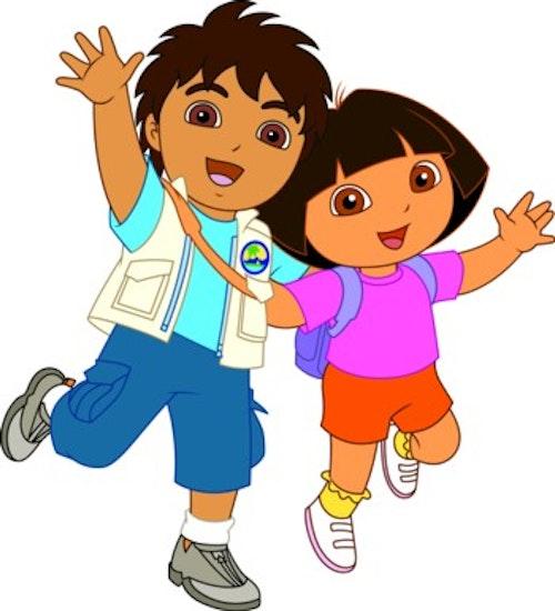 Kidskriebels – Op avontuur met Dora en Diego