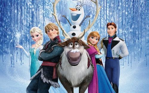 Kidskriebels – Frozen