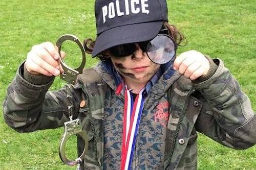 Kidskriebels – Word geheim agent