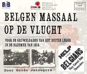 Lezing: Belgen massaal op de vlucht