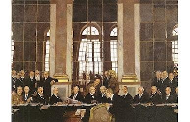 Het Verdrag van Versailles en  de nasleep van WO I