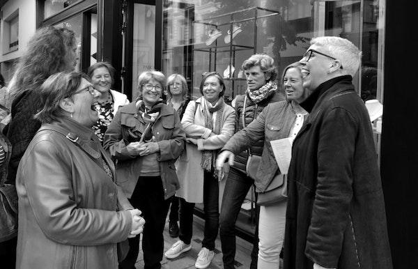 """Wandeling """"De gouden straatjes"""" in Antwerpen"""