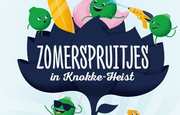 Kinderanimatie  Jo De Rijck en Kip Curry