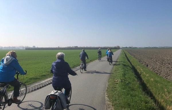 Met de Zwingids op de fiets